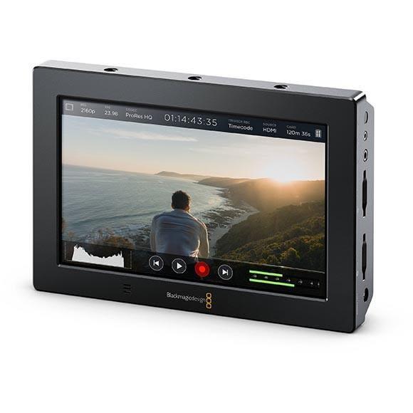 【聖影數位】BlackMagic Design 專業Video Assist 4K七吋監看錄影螢幕(4K記錄器) 新記公司貨 可6期0利率