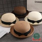 寶寶草帽遮陽帽防曬太陽帽夏男童女童涼帽兒童帽子【福喜行】