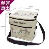 安妮兔 大容量20瓶易開罐裝保溫保冷野餐袋 附網143Y-2511W【免運直出】