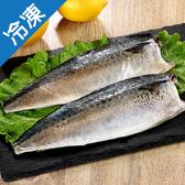 南方澳薄鹽鮮嫩鯖魚片400g+-10%/片【愛買冷凍】