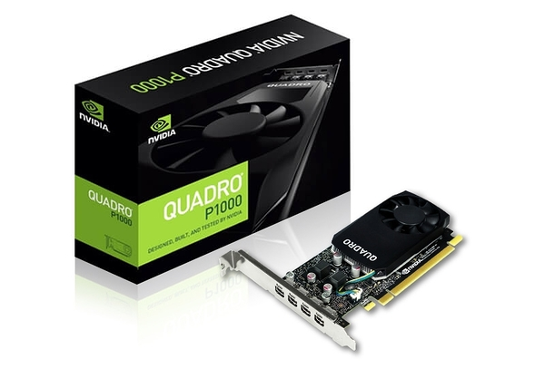 麗臺 NVIDIA Quadro P1000 4GB GDDR5 PCI-E 工作站繪圖卡