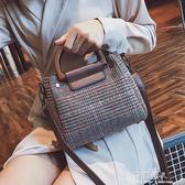 少女包包潮新款韓版百搭格子子母包ins超火手提單肩斜背小包 完美情人精品館