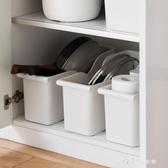 廚房滑輪鍋蓋架置物架塑料鍋具收納架調料架儲物架子 小確幸