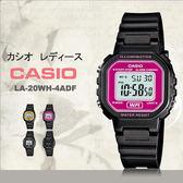 CASIO LA-20WH-4A 精巧方形復古電子錶 LA-20WH-4ADF 熱賣中!