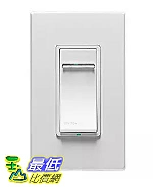 [美國直購] Leviton DZMX1-1BZ Decora Z-Wave Controls Scene Capable Universal Dimmer, White/Ivory/Light Almond