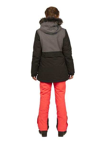PROTEST 女 防水保暖外套 (真實黑) RAMIRA SNOWJACKET