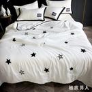 床包組ins韓式水洗棉夏被空調被夏季被子薄夏涼被四件套雙人單人三件套LXY7281【極致男人】