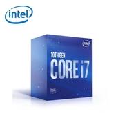 【Intel 英特爾】第十代 Core i7-10700F 八核心處理器(無內顯)