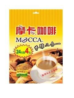 摩卡咖啡香醇二合一*2包(10gX24+4入)【合迷雅好物商城】