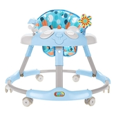 寶寶音樂防o型腿學步車嬰兒防側翻摺疊學行車