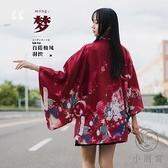 和風羽織日式外套寬鬆男女開衫和服【小酒窩服飾】