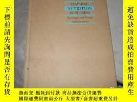 二手書博民逛書店TEACHING罕見NUTRITION IN NURSINGY1