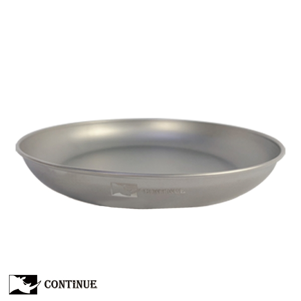 CONTINUE 鈦金屬輕量鈦盤(大)