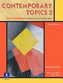二手書《Contemporary Topics 2: High Intermediate Listening and Note-taking Skills》 R2Y ISBN:0130948586