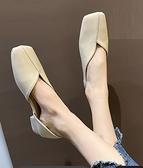 豆豆鞋 2021年新款單鞋女春款鞋子平底軟底軟皮仙女鞋溫柔平底豆豆鞋夏季 童趣屋