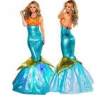 成人服裝美人魚服裝夜場派對禮服長裙 萬聖節聖誕節表演服裝造型服舞衣道具cosplay大人服裝