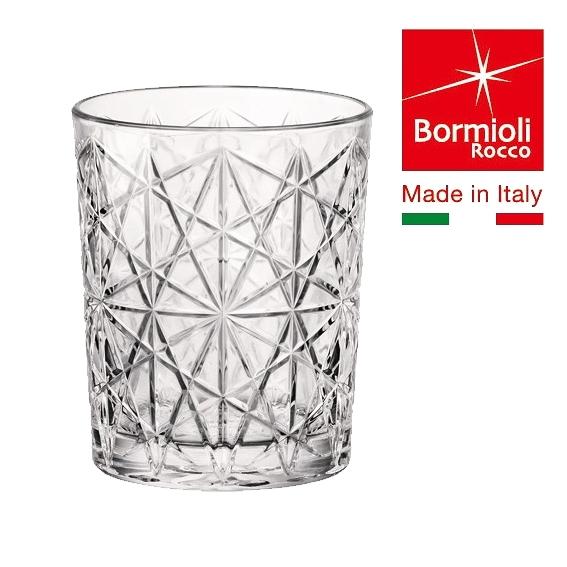 【Bormioli Rocco】Lounge  雕花威士忌杯390cc/6入