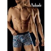 Aubade man-壞男人M-XL舒棉平口褲(野性海洋2件組)
