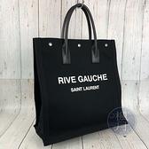 BRAND楓月 Saint Laurent YSL 聖羅蘭 631682 黑色RIVE GAUCHE 手提包 托特包