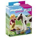 摩比積木 playmobil special plus 摩比人 女孩與小馬