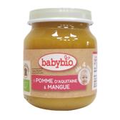 BABYBIO 有機蘋果芒果泥130g-法國原裝進口4個月以上嬰幼兒專屬副食品
