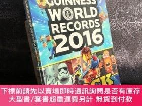 二手書博民逛書店Guinness罕見World Records 2016(遊戲玩家版)Y350553 Blockbusters