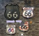 [協貿國際]   美國66號公路盾牌壁飾...