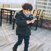 兒童羽絨服男童2019中小童韓版羽絨棉童裝外套毛領加厚保暖防寒寶寶棉衣【完美男神】