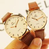 手錶女士學生韓版休閒大氣男錶 防水女錶男士情侶一對 交換禮物 生日禮物