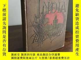 二手書博民逛書店1891年,《印度史版畫集》(India罕見Illustrate