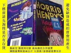 二手書博民逛書店horrid罕見Henry s haunted house可怕的亨利鬼屋Y200392