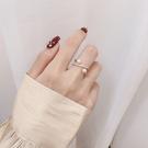 戒指 簡約裝飾食指戒指女網紅時尚個性冷淡風韓版珍珠指環ins潮戒子 店慶降價