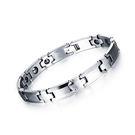 【5折超值價】 最新款經典時尚鎢鋼磁石造型情侶款手鍊