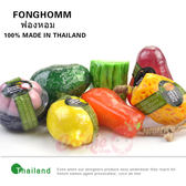 泰國 FONGHOMM 手工精油滋潤嫩白水果皂【庫奇小舖】