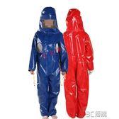 加厚連體馬蜂服馬蜂衣防蜂服帶散熱透氣孔捕馬蜂抓胡蜂防蜂衣HM 3c優購