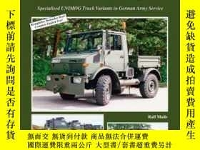 二手書博民逛書店Tankograd罕見5080 UNIMOG (slight damage)-Tankograd 5080 UNI