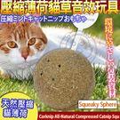 【培菓平價寵物網】美國CosmicCatnip宇宙貓 》100%全天然壓縮薄荷貓草音效玩具-滾滾球