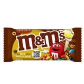 M&M S牛奶巧克力黃金限定版40g【愛買】