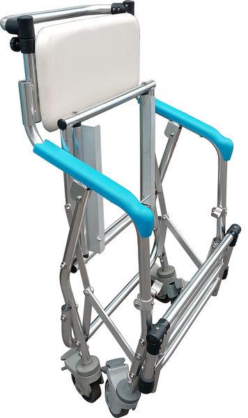 【醫康生活家】杏華 AM502-B2鋁製-收合可站立便椅+立腳