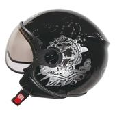 [東門城] ZEUS ZS210C DD66 黑 內襯可拆洗 飛行帽