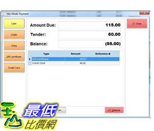 [106美國暢銷兒童軟體] Salon Point of Sale Checkout Software; Inventory Management & Control, Touchscreen Point