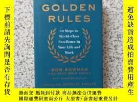 二手書博民逛書店THE罕見GOLDEN RULES 精裝本26761 請閱圖 請