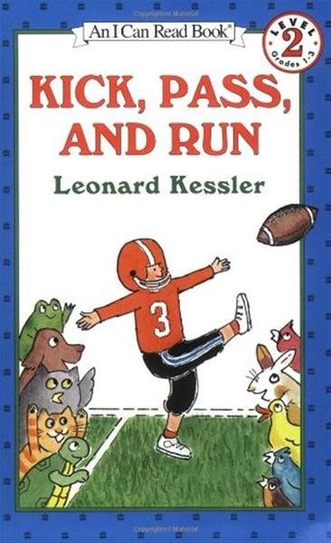 (二手書)An I Can Read Book Level 2: Kick, Pass, and Run