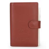 BURBERRY年度限量戰馬LOGO皮革手帳冊(咖啡色)086064-3