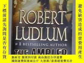 二手書博民逛書店英文原版罕見The Ambler Warning by Robe
