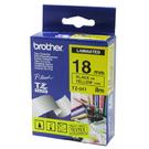 【BROTHER】TZe-641黃底黑字18mmx8M標籤帶
