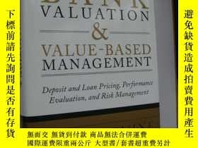 二手書博民逛書店Bank罕見Valuation and Value Based