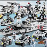 (超夯大放價)拼裝積木 積木拼裝軍事航空母艦模型6-12歲男孩子益智兒童玩具禮物XW