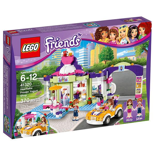 樂高積木LEGO Friends系列 41320 心湖城優格冰淇淋店