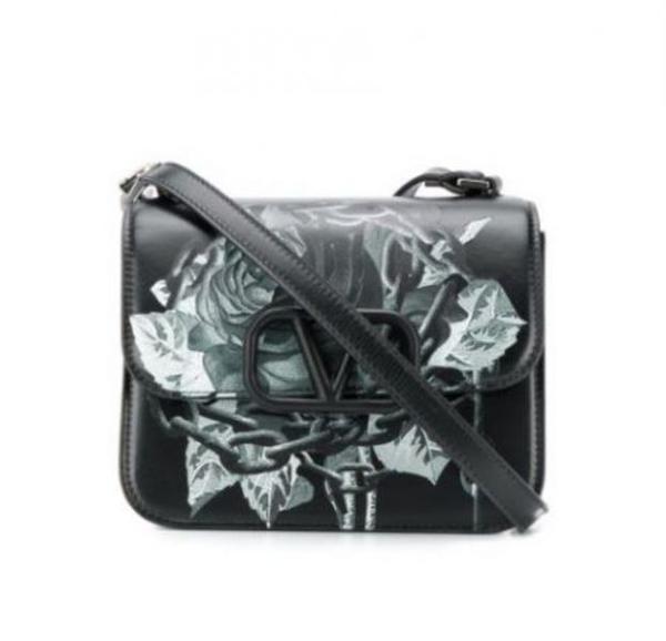 ■專櫃66折■全新真品■Valentino x Undercover 聯乘系列 VSLING 小牛皮肩背包